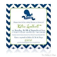 whale baby shower invitations plumegiant com
