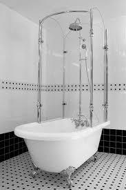 bathroom tub and shower ideas best 25 clawfoot tub shower ideas on tubs with regard to