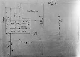 Sketch Floor Plan Floorplan Sketch Of The Whaley House And Grounds