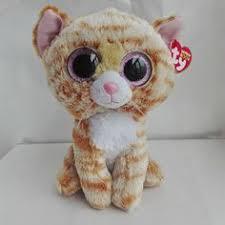toys child ty beanie boos series big eyes monkey coconut plush