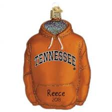 tennessee volunteer ornaments personalized
