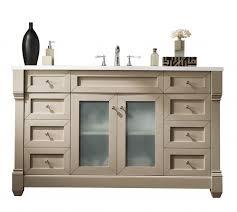 60 Inch Bathroom Vanity Single Sink by 60 Inch Single Sink Bathroom Vanity Sea Gull Finish With White