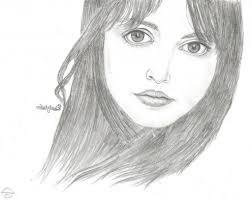 photos beautiful girls face pencil drawing drawings art gallery