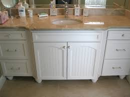 Cottage Bathroom Vanity by Lovely Small Cottage Bathroom Vanity With Recessed Door Panels For