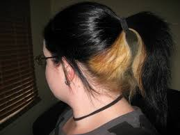 dye bottom hair tips still in style dark blonde blonde hair color ideas dark underneath hair dye 51