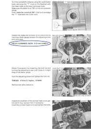 valve adjustment procedures trx 450 all honda foreman forums