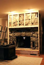 fireplace cover decorative for opening diy reface with stone