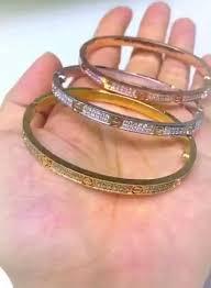 diamond love bracelet images Slimmer small model cartier love bracelet diamond paved jewelglitz jpg