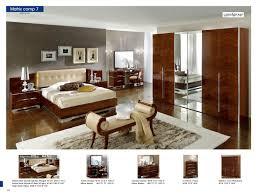 Italian Modern Bedroom Furniture 30 Matrix Composition 7 With Beige Headboard Camelgroup