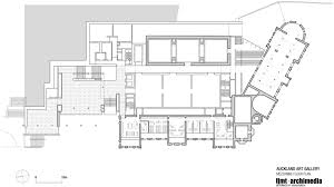 Picture Of A Floor Plan by Gallery Of Toi O Tāmaki Auckland Art Gallery Fjmt Archimedia 8