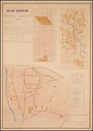 Arizona Maps by Military Reservation At Whipple Barracks Arizona With 3 Survey