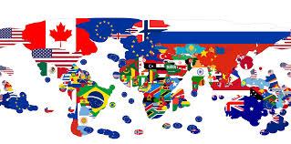 Flags Of European Countries Exclusive Economic Zone Flag Map 4800x2376 Oc Mapporn