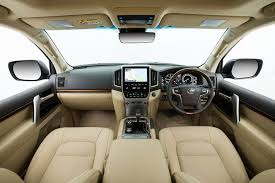 toyota limo interior 2017 toyota landcruiser 200 review whichcar