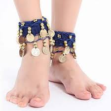 ankle cuff bracelet images New vintage style women belly dance ankle cuff wrist bracelet jpg