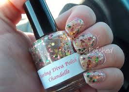 not too polished glitter chandelle by darling diva polish