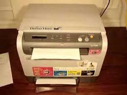 samsung clx 2160n color laser printer youtube