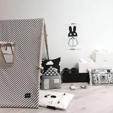 chambre fille noir et blanc chambre enfant en noir et blanc 25 idées à copier rooms