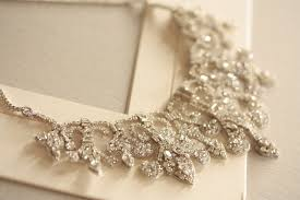 vintage wedding necklace images Vintage inspired bridal necklace statement wedding jewelry jpg