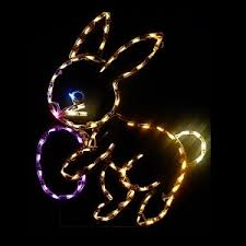 Easter Decorations With Lights by Led Outdoor Christmas Decorations Lighted Easter Christmas