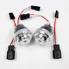 white cree led angle eyes halo light bulb headlight for bmw 5