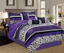 Comforter Bed In A Bag Sets Purple And Black Bedding Sets U2013 Ease Bedding With Style