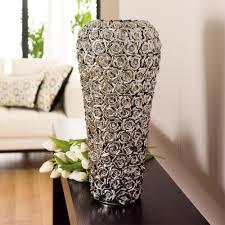 rose ceramic vase chrome dwell