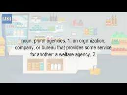 bureau plural what is the plural form of agency