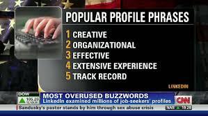 Resume Words To Avoid 2011 U0027s Most Overused Resume Buzzwords Cnn