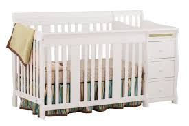 stork craft portofino 4 in 1 fixed side convertible crib and