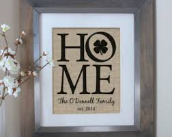 irish decor for home irish home decor etsy
