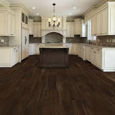 white kitchen cabinets with vinyl plank flooring trafficmaster ultra southern hickory resilient vinyl