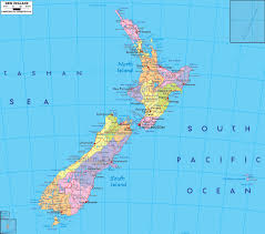 Road Map Of The Usa by Large Detailed Administrative Map Of New Zealand With Roads