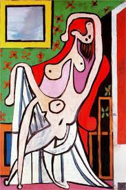 An Armchair Woman In An Armchair 1929 By Pablo Picasso
