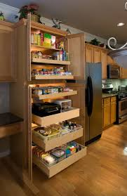 Kitchen Cabinets With Pull Out Drawers Shelfgenie Of Naples Pull Out Pantry Shelves Create Additional