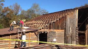Barn Roof by Replacing The West Side Of The Cow Barn Roof Youtube