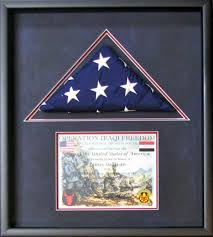 Triangle Flag Case Military Framing Gallery By Tamis Fastfrrame Frame Shop And