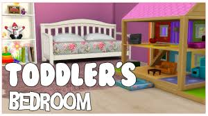 4 Bed Frame Toddler S Bedroom The Sims 4 Room Build