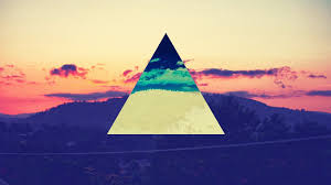 Twitter Color Color Spectrum Hipster Mountains Pink Floyd Science Sunset Swag