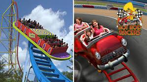 San Diego Six Flags Flags Magic Mountain Surges Ahead Of Cedar Point For Coaster Crown
