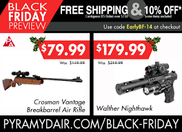 black friday gun sales pyramyd air black friday preview sale starts