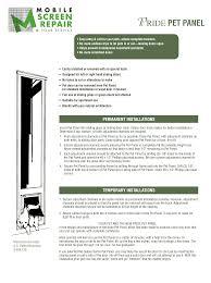 installing pet door in glass door doggie door installation mobile screen repair
