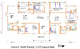 Home Design Plans With Vastu Shiva Series Pre Designed Vastu Homes