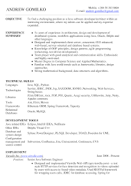 Software Developer Resume Example Front End Developer Creative Idea Python Developer Resume Tanveer