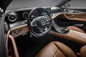 mercedes inside 2017 mercedes e class 12 interior design features