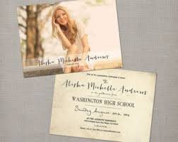 high school graduation announcement best 25 senior graduation invitations ideas on