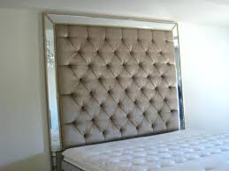 king upholstered headboard with nailhead trim decoration tufted headboards coccinelleshow com