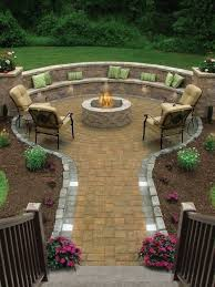 Backyard Firepit Ideas Chic Pit In Backyard Ideas Garden Decors
