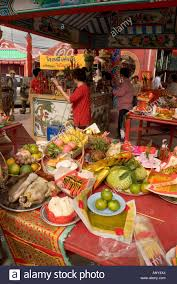 thailand food offerings to the gods thanksgiving