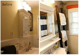 Where To Hang Towels In Small Bathroom Home Hacks 10 Before U0026 After Bathroom Tips Thegoodstuff