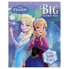 disney u0027s frozen big colouring book kmart